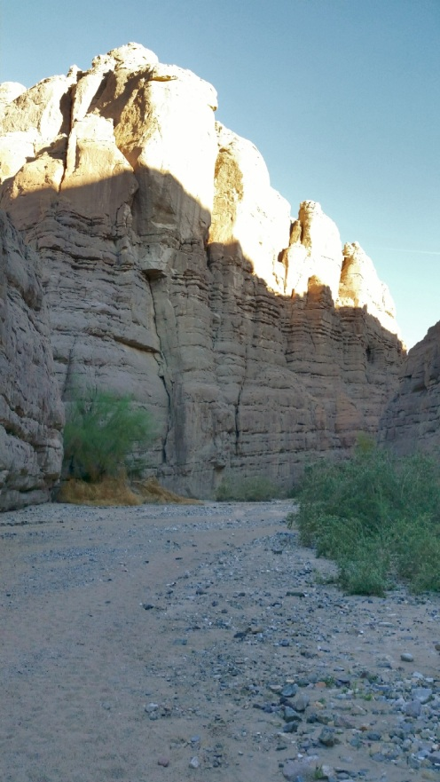 Painted Canyon, Mecca CA