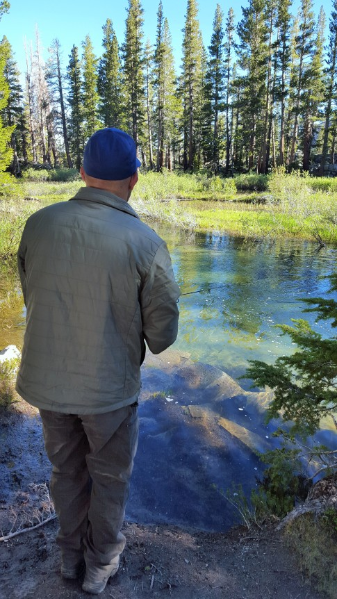 Fishing Mammoth Creek