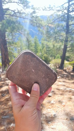 Geo-Caching on Big Horn Mine Trail